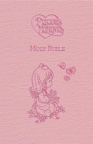 Precious Moments Holy Bible (International Children's Bible, Pink)