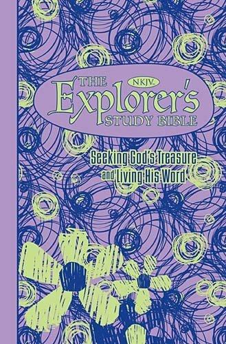 The Explorer's Study Bible: Seeking God's Treasure and Living His Word (NKJV, Purple)