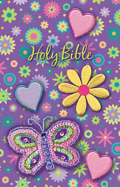 NKJV Holy Bible (Shiny Sequin-Purple)