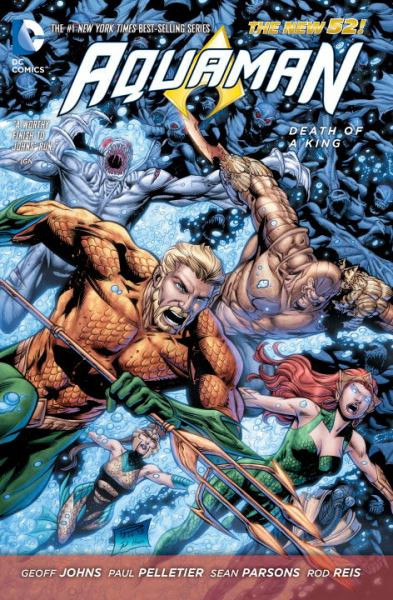 Death of a King (Aquaman, The New 52! Volume 4)