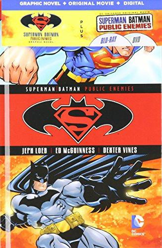 Superman/Batman: Public Enemies (Book & DVD Set)