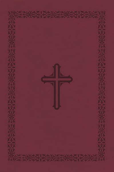 The MacArthur Study Bible (NA673CR, Cranberry Leathersoft, NASB, Study)
