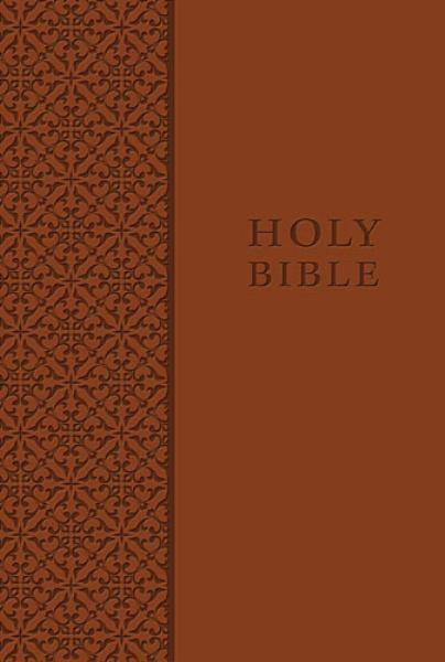 Personal Size King James Study Bible (KJV, 1033AU - Auburn Leathersoft, Gilded-Gold Page Edges)