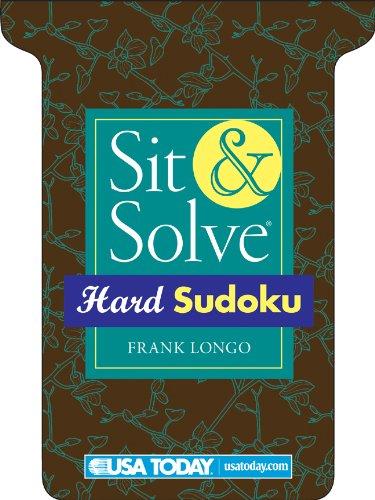 Sit & Solve Hard Sudoku (USA TODAY)