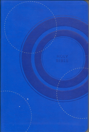 Holy Bible: Gift Edition (0163PKM- Blue Leathersoft Bible/KJV/Text)