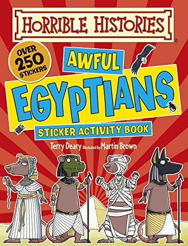 Awful Egyptians Sticker Activity Book (Horrible Histories)