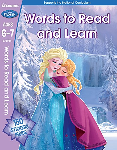 Words to Read and Learn (Disney Learning: Disney Frozen)