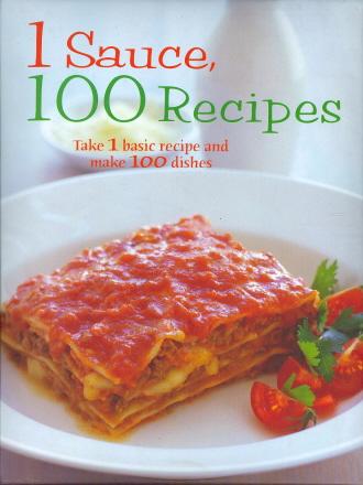 1 Sauce, 100 Recipes
