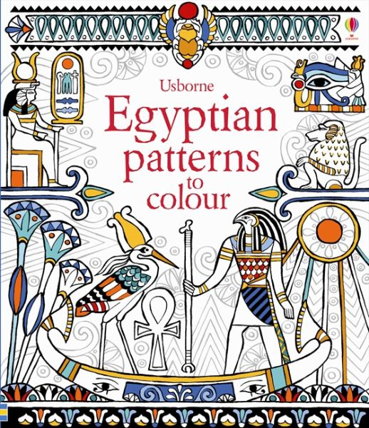 Egyptian Patterns to Colour (Usborne Colouring Books) - BookOutlet.com