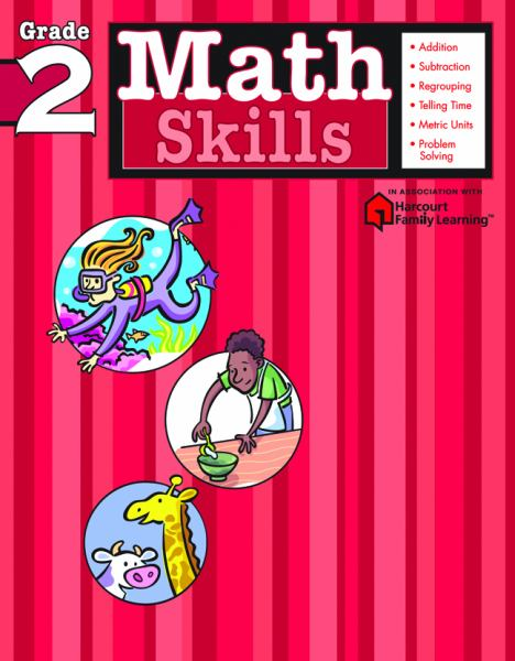 Math Skills (Harcourt Family Learning, Grade 2)