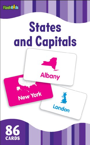 States And Capitals Flash Cards