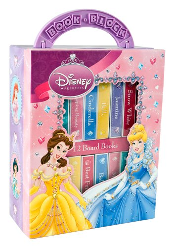Disney Princess (My First Library, 12 Board Books)