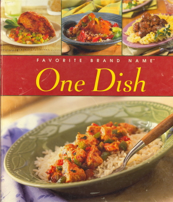 One dish (Favorite Brand Name)