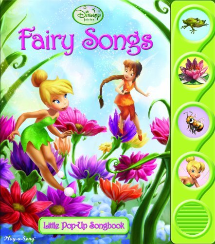 Fairy Songs (Disney Little Pop-Up Songbook)