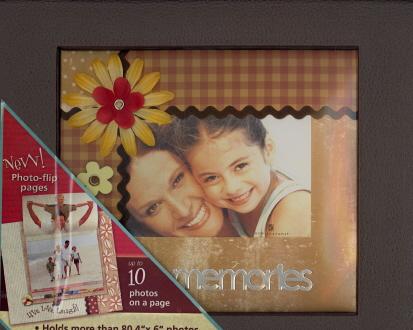 Memories Photo Album: Photo-Flip Pages