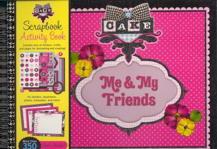 Me & My Friends Scrapbook Activity Book