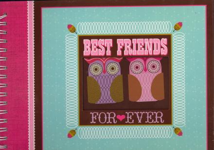 Best Friends For Ever Scrapbook
