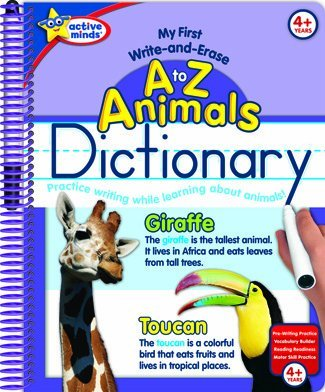 A to Z Animals Dictionary (My First Write-and-Erase )