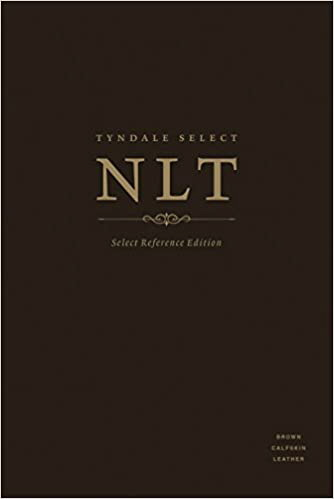 Tyndale NLT Select Reference Edition (Brown Calfskin Leather)