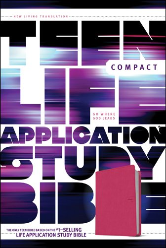 NLT Compact Teen Life Application Study Bible (Pink Love Imitation Leather)