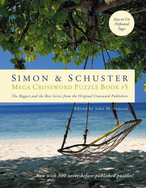 Simon & Schuster Mega Crossword Puzzle Book #5