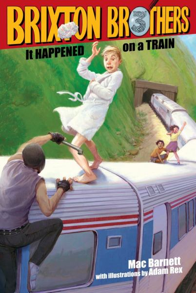 It Happened on a Train (Brixton Brothers, Bk. 3)