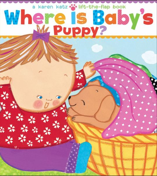 Where Is Baby's Puppy? (Lift-the-Flap)