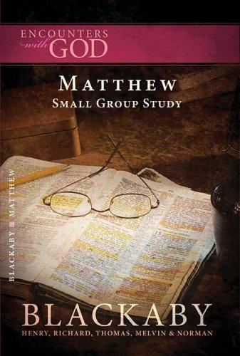 Matthew (Encounters with God)