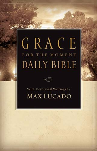 Grace for the Moment Daily Bible (4591RE, NCV/Devotional)