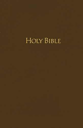 NKJV Pew Bible (0410BR - Brown Hardcover)