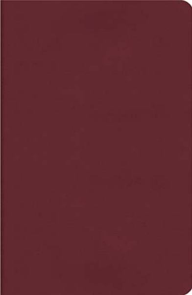 Compact UltraSlim Bible, Classic Series (NKJV, 3163BG - Nelson Burgundy Leathersoft, Gilded-Silver Page Edges)