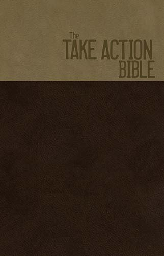 NKJV Take Action Bible: Together We Can Change the World (Signature Series 3013TA- Copper/Earth Brown/Mink Leathersoft Bibles)
