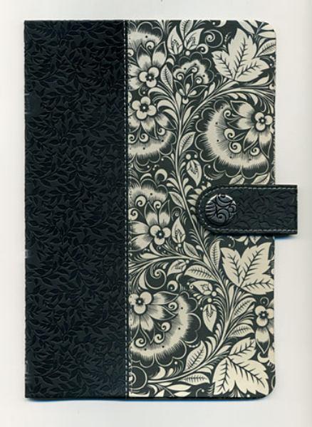 Ultra Slim Holy Bible: Designer Series (NKJV/Text, 3018-Black & White Leathersoft Fabric)