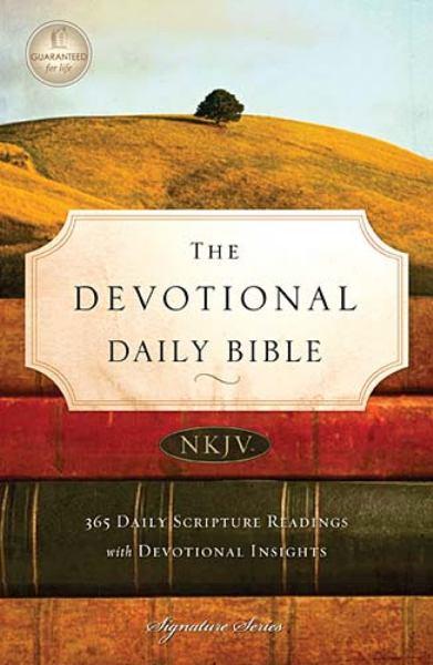 The Devotional Daily Bible (0510N, NKJV)