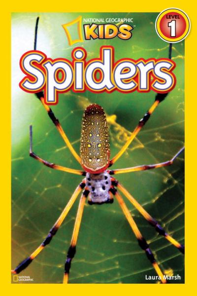 Spiders (National Geographic Readers, Level 1)