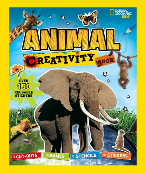 Animal Creativity Book (National Geographic Kids)