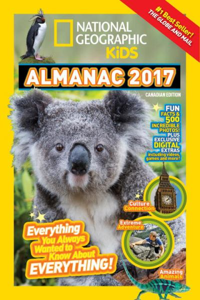 National Geographic 2017 Kids Almanac