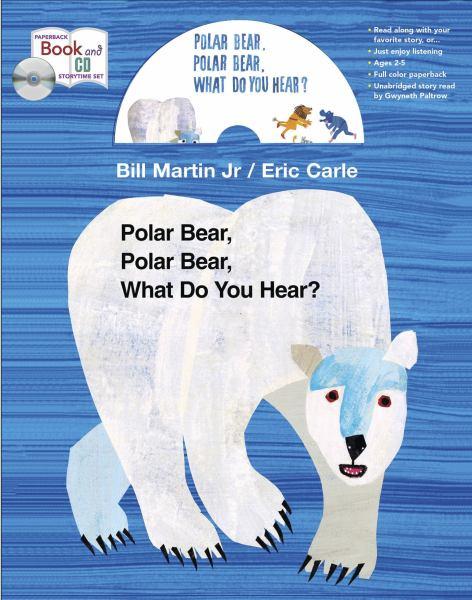 Polar Bear, Polar Bear, What Do You Hear? (Book & CD)