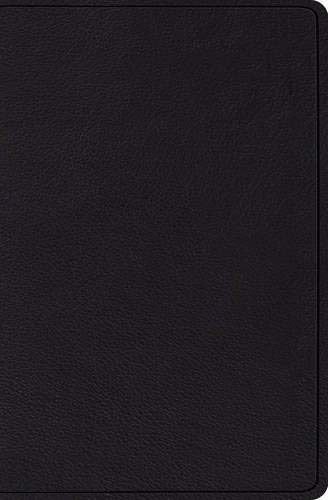 ESV Verse-by-Verse Reference Bible (Top Grain Black Leather)