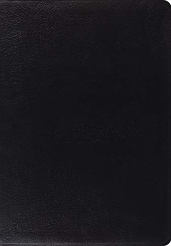 ESV Giant Print Bible (Genuine Black Leather)