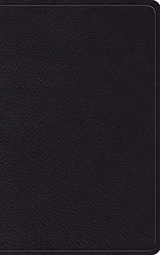 ESV Thinline Holy Bible (Black Top Grain Leather)