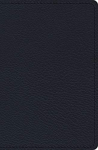 ESV Heirloom Single Column Legacy Bible (Blue Goatskin)