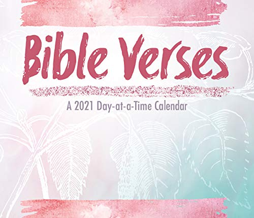 Bible Verses 2021 Day-at-a-Time Box Calendar