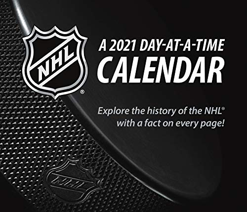 NHL 2021 Day-at-a-Time Box Calendar