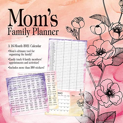 Mom's Family Planner 2021 Wall Calendar