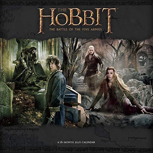 The Hobbit 2021 Wall Calendar