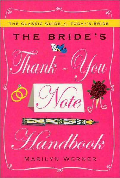 The Bride's Thank-You Note Handbook