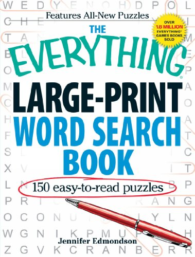 Large Print Word Search Book (The Everything)