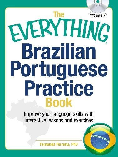 Brazilian Portuguese Practice Book (The Everything)