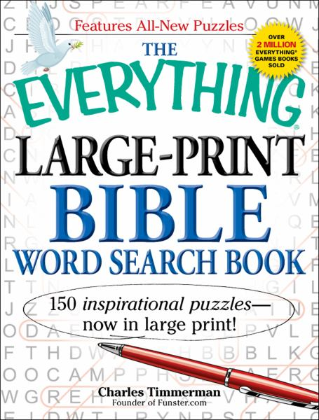 The Everything Large-Print Bible Word Search Book